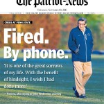 Joe Paterno, Patriot-News