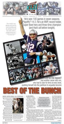 Feb. 3, 2008 -- Super Bowl XLII Preview