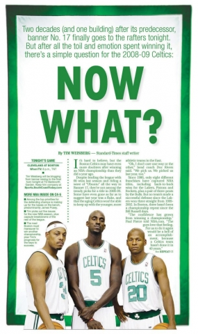 Oct. 28, 2008 -- Celtics Season Preview