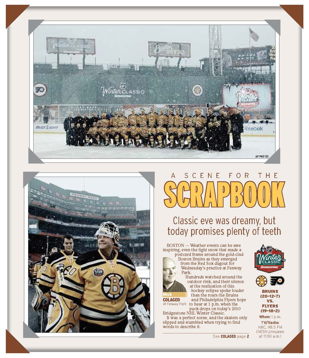 Jan. 1, 2010 -- Bruins Winter Classic Preview