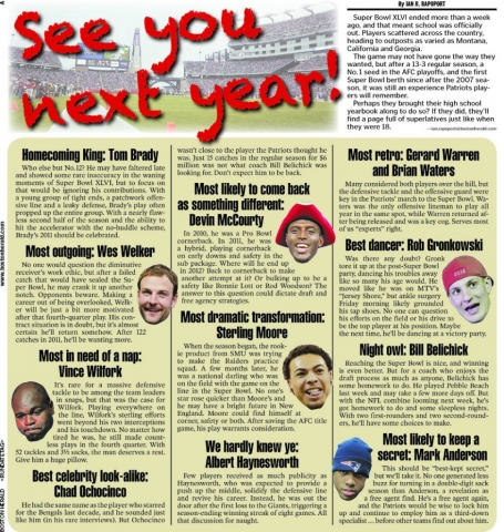 Feb. 13, 2012 -- See You Next Year, Pats!