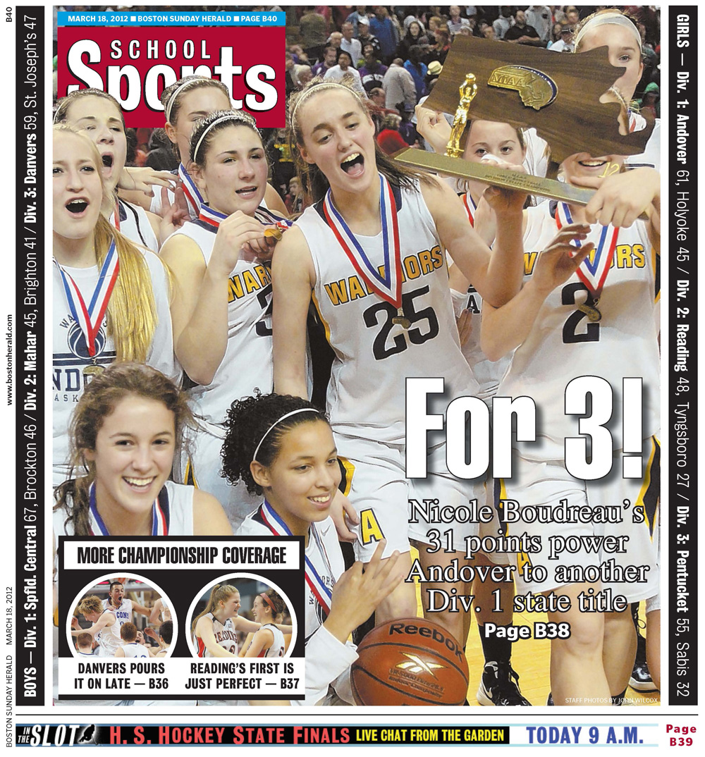 March 18, 2012 -- Basketball State Title Saturday
