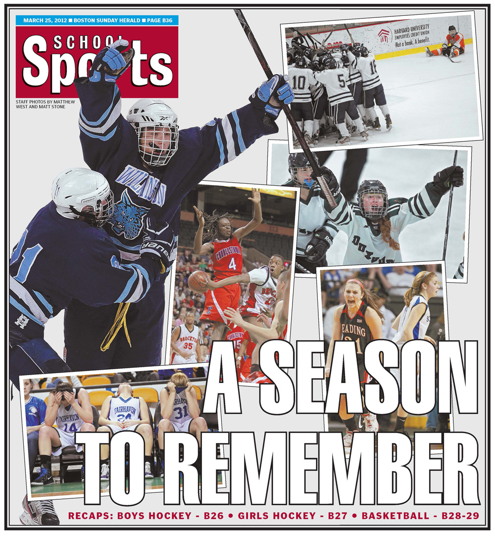 March 25, 2012 -- Winter High School Sports Review