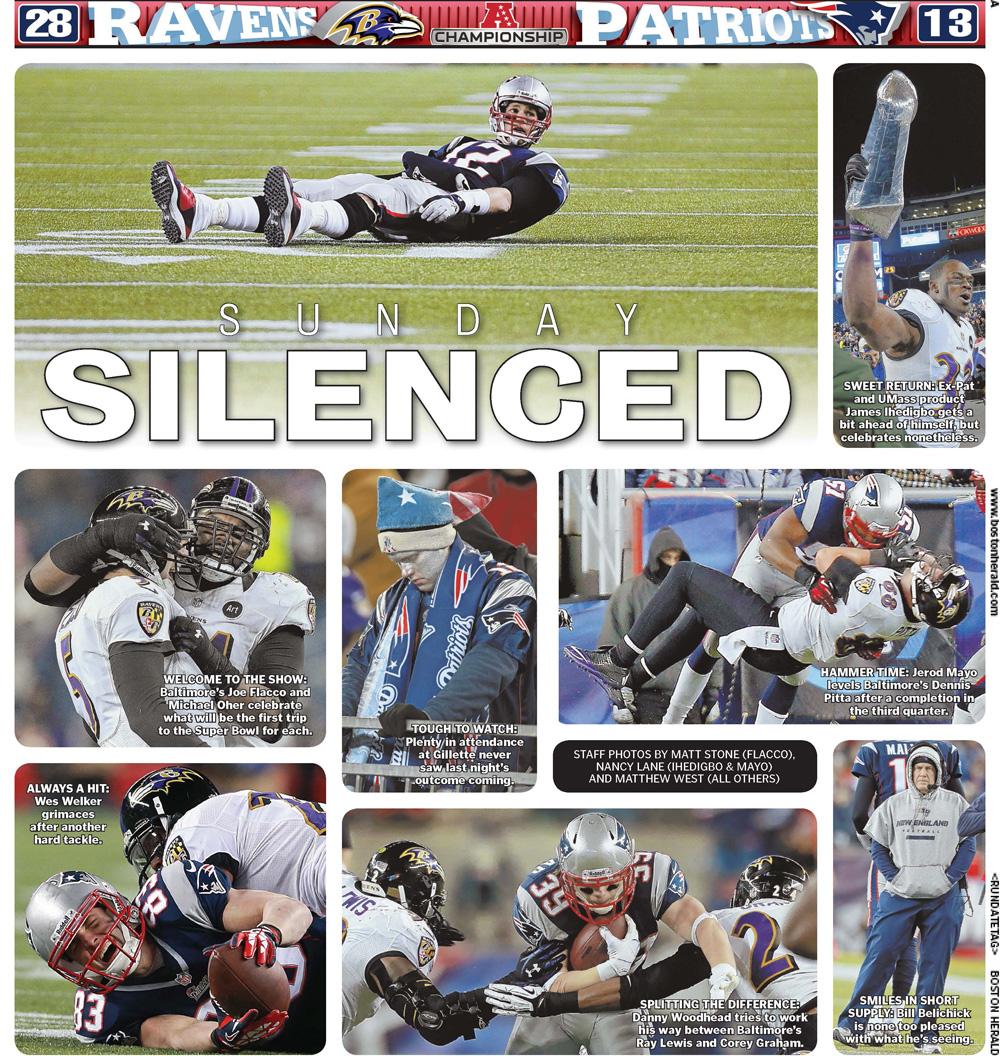 Jan. 21, 2013 -- 'Sunday Silenced' AFC Championship