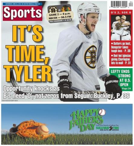 June 15, 2013 -- It's Time, Tyler