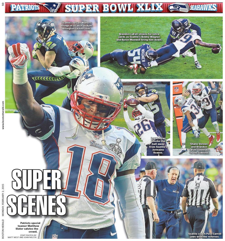 Feb. 2, 2015 -- Super Scenes at Super Bowl XLIX